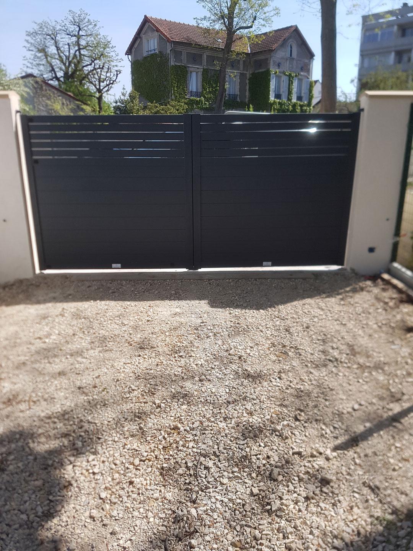 Réparation portail extérieur